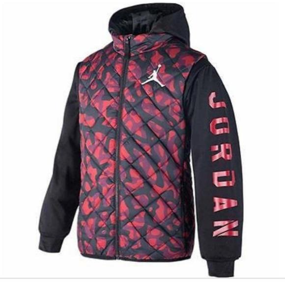0e8767d0c Jordan Jackets & Coats | Camo Puffer Ys | Poshmark